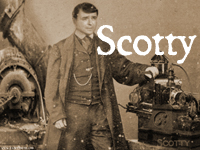 Steampunk / Victorian Scotty